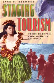 Cover of: Staging Tourism | Jane C. Desmond