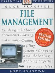 Cover of: File Management (Essential Computers) | Andy Ashdown