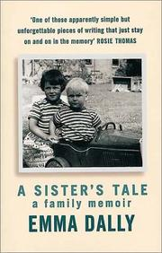Cover of: A Sister's Tale | Dally