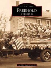 Cover of: Freehold, NJ Volume II | Lee Ellen Griffith