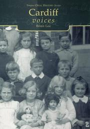 Cover of: Cardiff Voices (Tempus Oral History) | Brian Lee