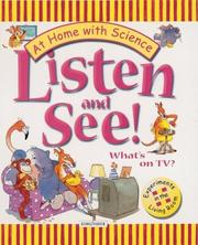 Cover of: Listen and see! What's on TV? | Janice Lobb