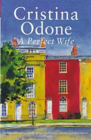 Cover of: A perfect wife by Cristina Odone