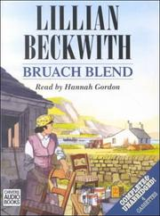 Cover of: Bruach Blend | Lillian Beckwith