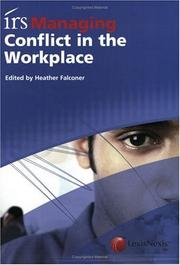Cover of: irs Managing Conflict in the Workplace | Heather Falconer