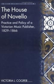 Cover of: The house of Novello by Victoria L. Cooper