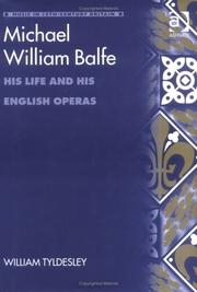 Cover of: Michael William Balfe | William Tyldesley