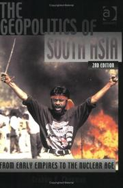 Cover of: The Geopolitics of South Asia | Graham P. Chapman