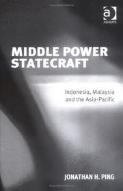 Cover of: Middle Power Statecraft by Jonathan H. Ping