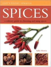 Cover of: Spices (Cook's Kitchen Reference) | Sallie Morris