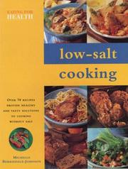 Cover of: Low-Salt Cooking (Eating for Health) by Michelle Berriedale-Johnson