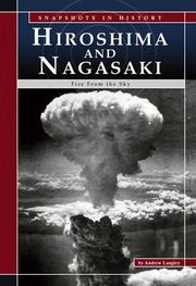 Cover of: Hiroshima and Nagasaki | Andrew Langley
