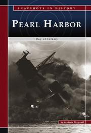 Cover of: Pearl Harbor | Stephanie Fitzgerald