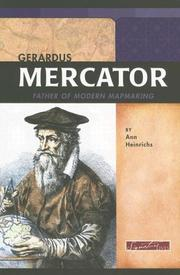 Cover of: Gerardus Mercator | Ann R. Heinrichs