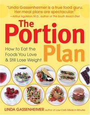 Cover of: The Portion Plan | Linda Gassenheimer