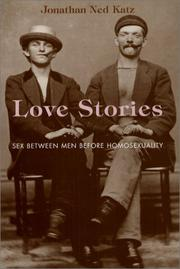 Cover of: Love Stories by Jonathan Ned Katz