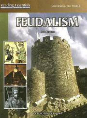 Cover of: Feudalism | Jane Hurwitz