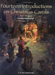 Cover of: 14 Intros on Christmas Carols (H.W. Gray Organ) | Jerry Westenkuehler