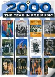Cover of: 2000: The Year in Pop Music | Various Artists