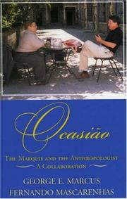 Cover of: Ocasiao: The Marquis and the Anthropologist, A Collaboration | George E. Marcus