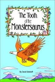 Cover of: The Tooth of the Monstersaurus | David Sokoloff