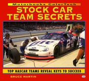 Cover of: Stock car team secrets by Martin, Bruce