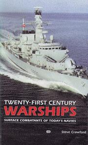 Cover of: Twenty-First Century Warships by Steve Crawford