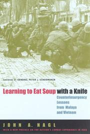 Cover of: Learning to Eat Soup with a Knife | John A. Nagl