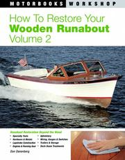 Cover of: How to Restore Your Wooden Runabout | Don Danenberg