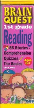 Cover of: Brain quest 1st grade reading | Bonnie Dill