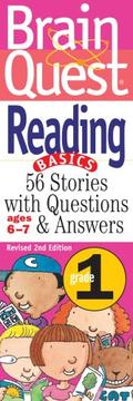 Cover of: Brain Quest Grade 1 Reading (Brain Quest) | Bonnie Dill
