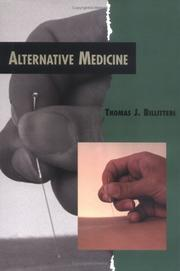 Cover of: Alternative Medicine (Twenty-First Century Medical Library) | Thomas Billiteri