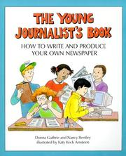 Cover of: Young Journalist'S Book | Nancy/Guthrie,Donna Bentley