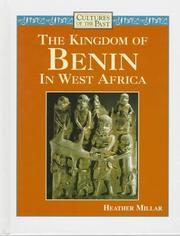 Cover of: The kingdom of Benin in West Africa | Heather Millar
