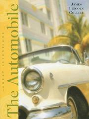 Cover of: The automobile | James Lincoln Collier