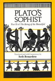 Cover of: Sophist by Plato