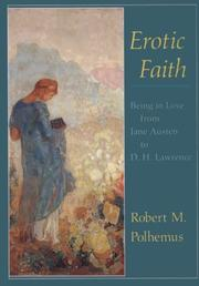 Cover of: Erotic faith | Robert M. Polhemus