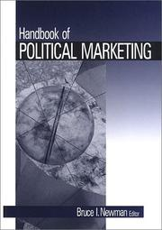 Cover of: Handbook of Political Marketing by Bruce I. Newman