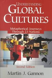 Cover of: Understanding global cultures by Martin J. Gannon