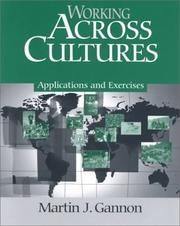 Cover of: Working Across Cultures | Martin J. Gannon