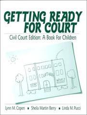 Cover of: Getting ready for court | Lynn Copen