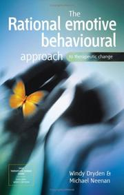 Cover of: The Rational Emotive Behavioural Approach to Therapeutic Change by Windy Dryden