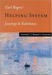 Cover of: Carl Rogers' Helping System by Godfrey T. Barrett-Lennard