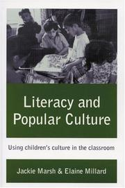 Cover of: Literacy and popular culture | Jackie Marsh