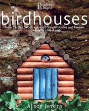 Cover of: Birdhouses by Alison Jenkins