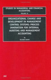 Cover of: Organizational change and development in management control systems by Seleshi Sisaye