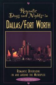 Cover of: Romantic days and nights in Dallas-Fort Worth by June Naylor