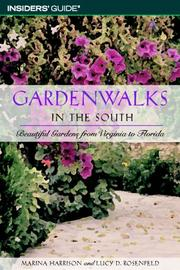 Cover of: Gardenwalks in the southeast by Marina Harrison