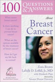 Cover of: 100 Questions & Answers About Breast Cancer (100 Questions & Answers) | Elizabeth Platt