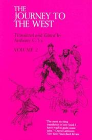 Cover of: The Journey to the West, Volume 2 | Anthony C. Yu